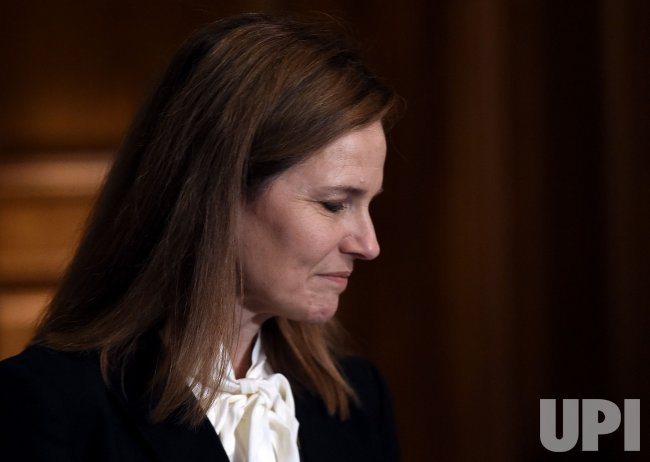 Supreme Court Nominee Judge Amy Coney Barrett Meets Senators