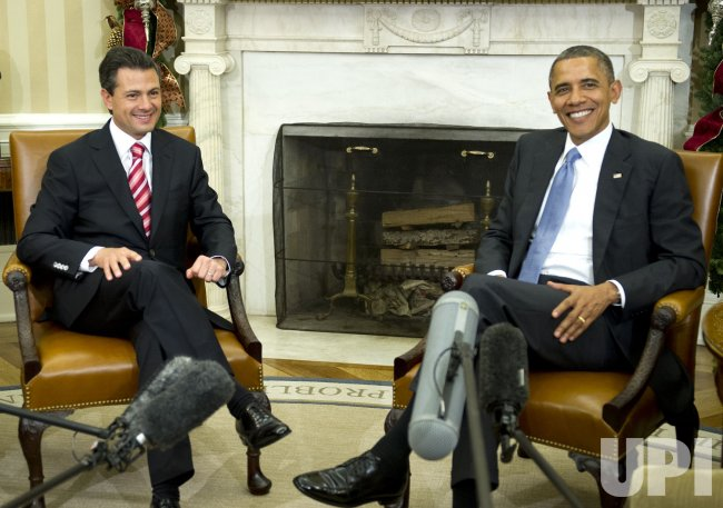 Obama Welcomes President-elect Peña Nieto of Mexico