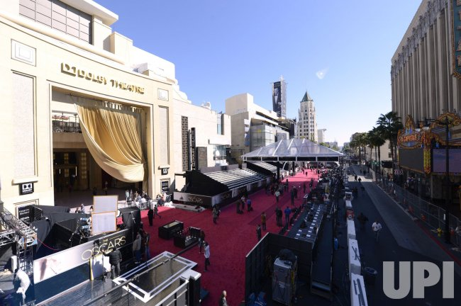 Preparations underway for the 85th Academy Awards in Hollywood