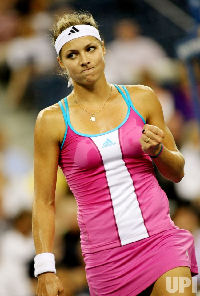 Christina McHale and Maria Kirilenko compete at the U.S. Open in New York