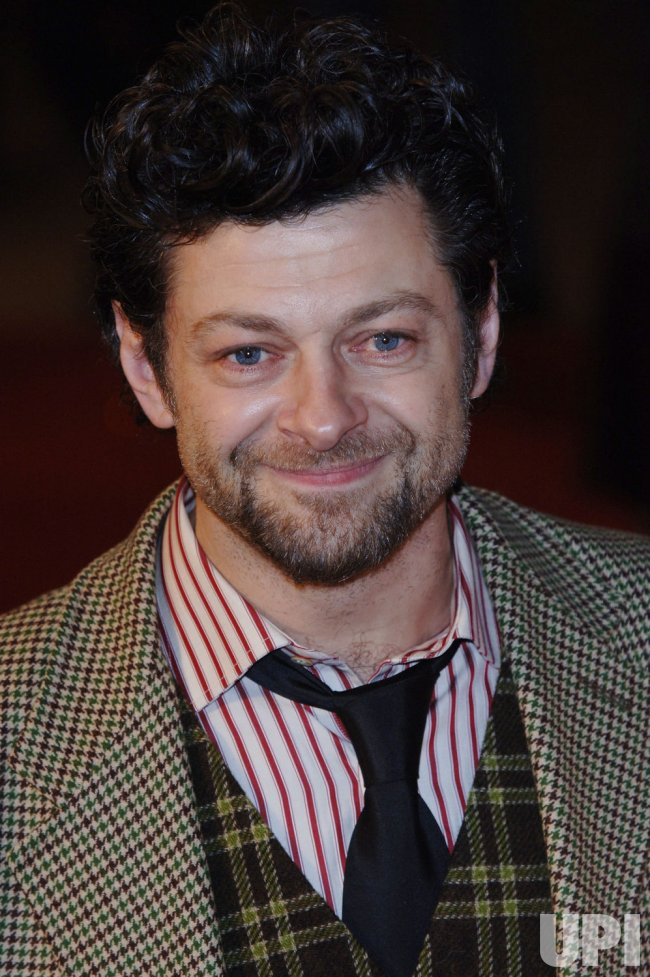 "ACTOR ANDY SERKIS AT ""KING KONG"" BRITISH PREMIERE"