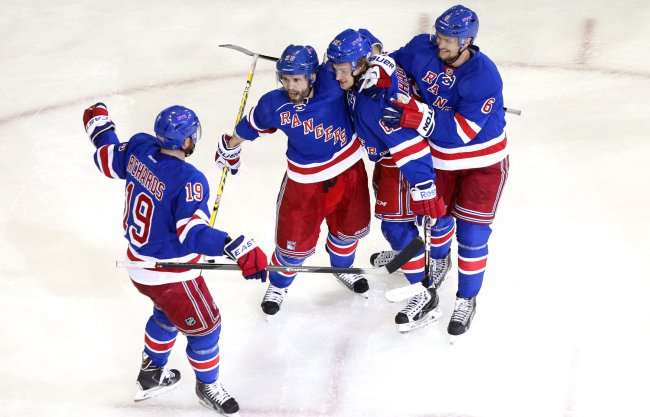 Montreal Canadians vs New York Rangers in game 3 of the NHL Eastern Conference finals