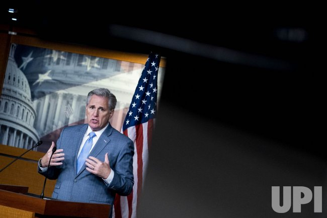 Kevin McCarthy Holds Weekly Press Conference