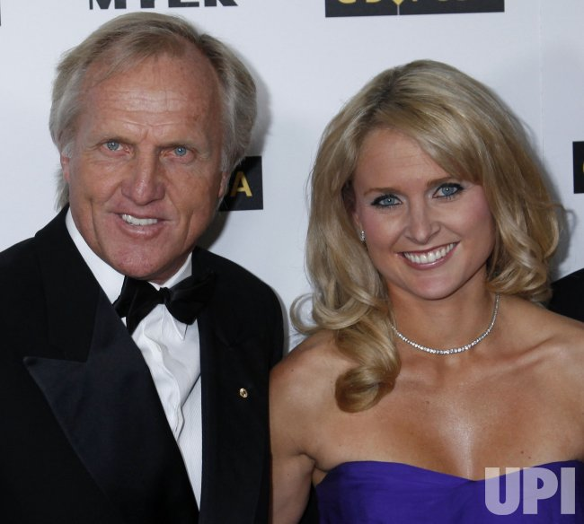 Greg Norman And Morgan Leigh Norman Arrive At The G Day