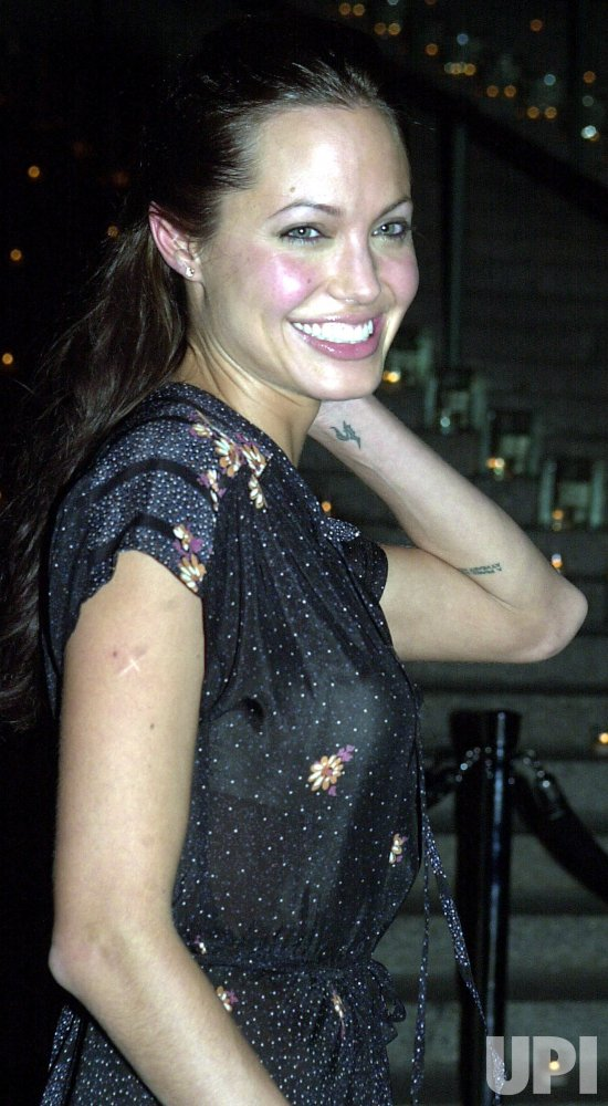 Angelina Jolie Attends Launch Party For 2nd Annual Tribeca