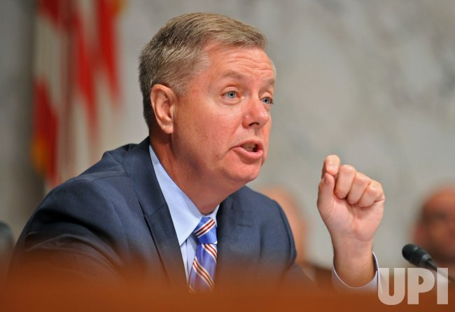 Sen. Lindsey Graham questions Supreme Court nominee Elena Kagan in Washington