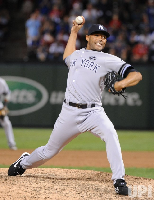 New York Yankees' closer Mariano Rivera