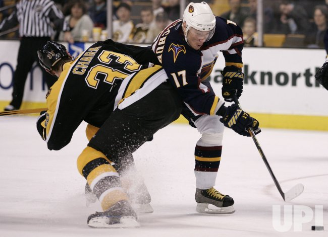 ATLANTA THRASHERS VS BOSTON BRUINS