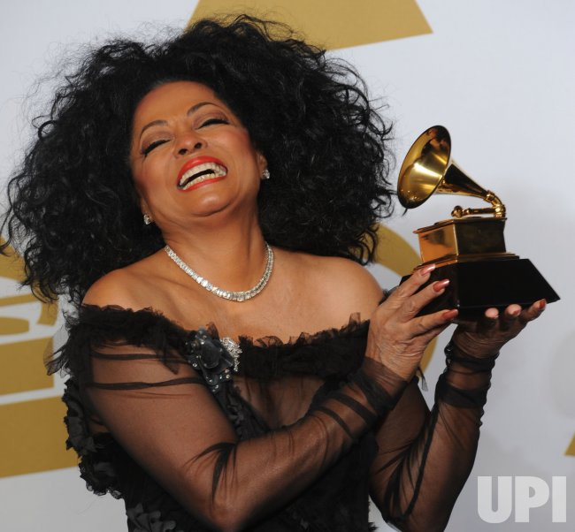 Diana Ross wins Lifetime Achievement Award at Grammys in Los Angeles