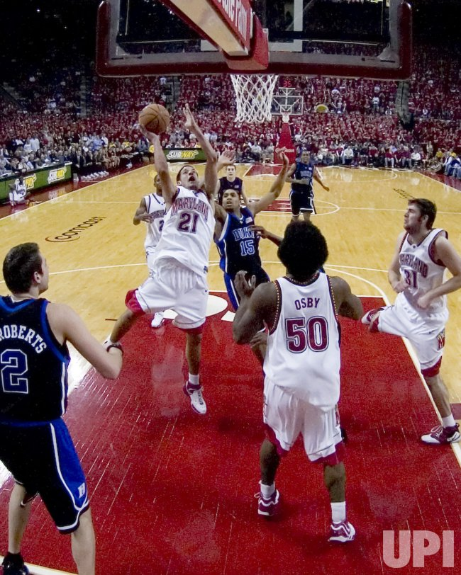 DUKE VS MARYLAND NCAA BASKETBALL