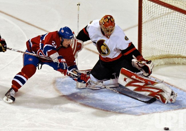 OTTAWA SENATORS VS MONTREAL CANADIENS