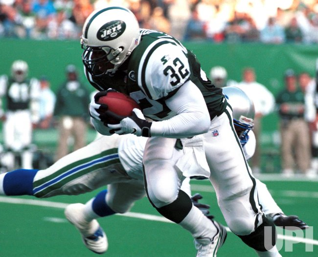 NY Jets RB # 32 Curtis Martin