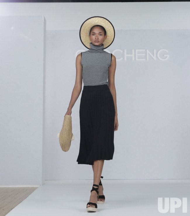 CHOCHENG SS21 Runway Show at Contra Studios in New York