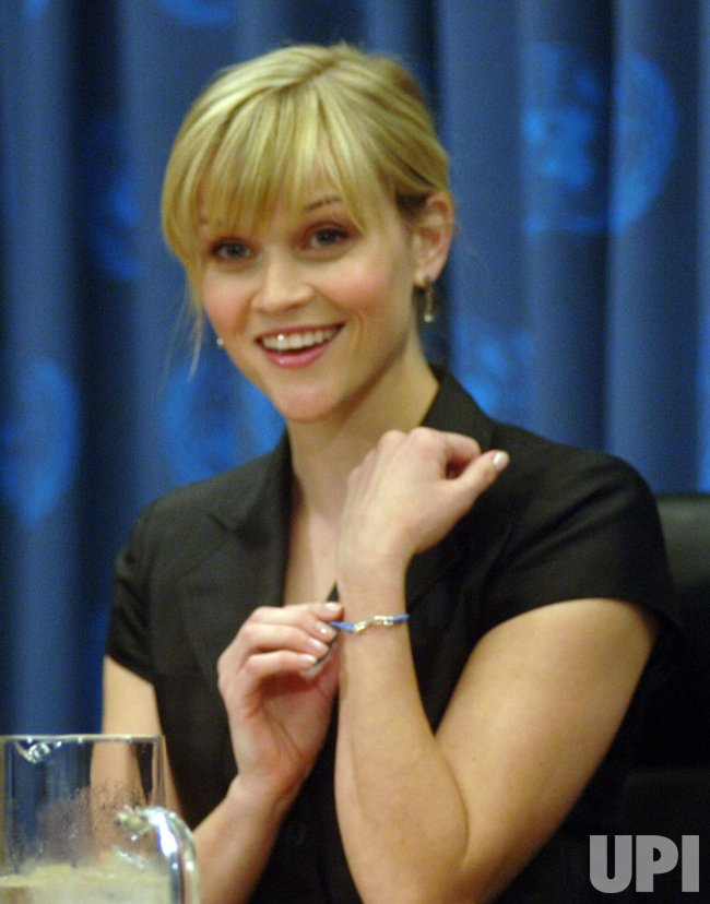 Reese Witherspoon outlines her goals as a Avon Global Ambassador for the media in New York