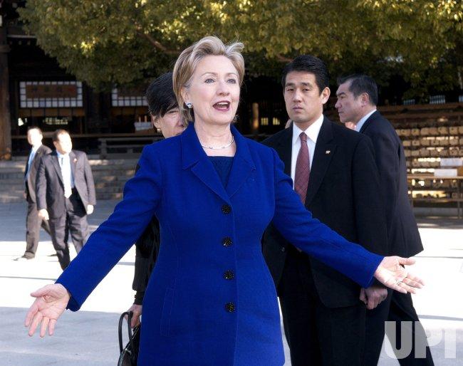 Hillaly visits Meiji Shrine in Japan
