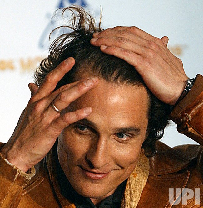 Matthew Mcconaughey Admits To Using Hair Regenerative