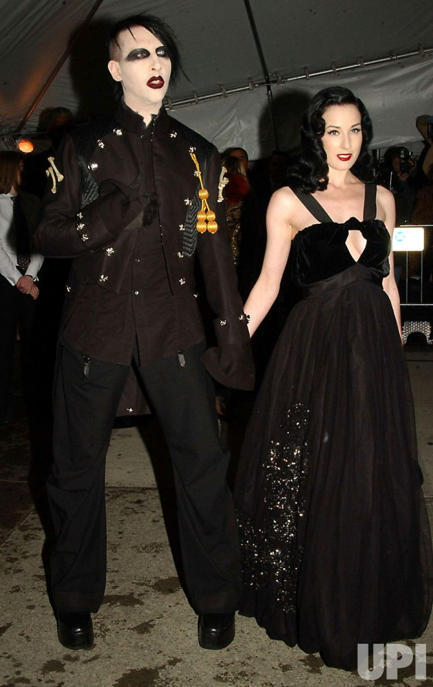 MARILYN MANSON ATTENDS COSTUME INSTITUTE GALA AT MOMA