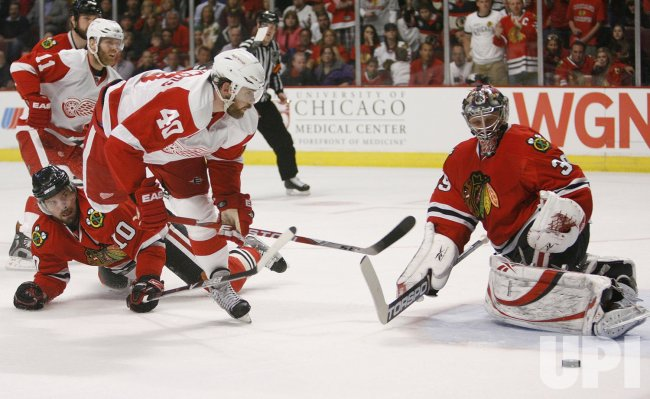 2009 NHL Western Conference Finals Detroit Red Wings vs. Chicago Blackhawks Game 3