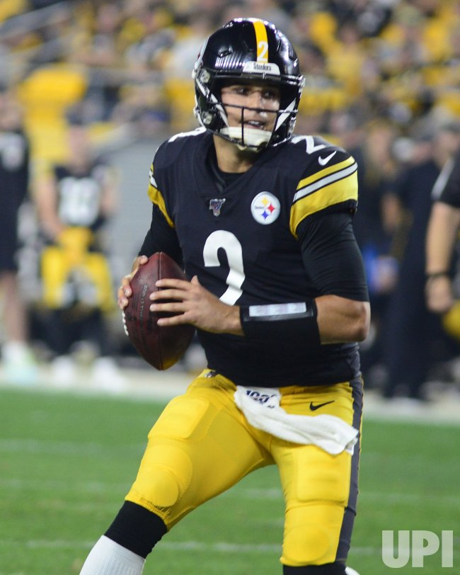 Steelers Mason Rudolph Throws Touchdown Against Bengals
