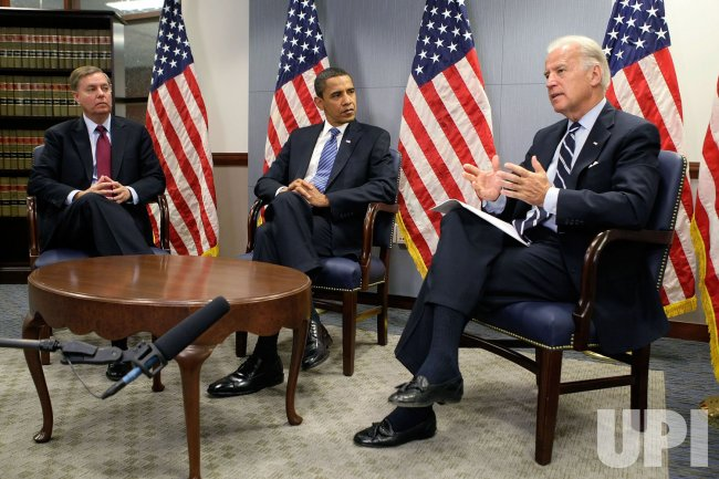 Obama receives briefing From Vice President-Elect Biden on Southwest Asia trip