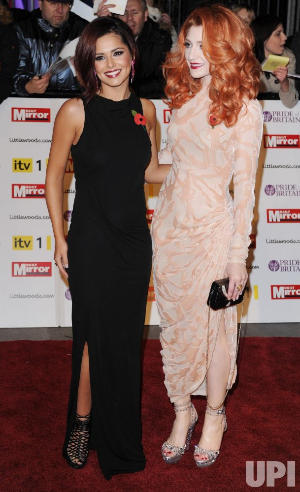 "Cheryl Cole and Nicola Roberts attend ""Pride Of Britain Awards"" in London"