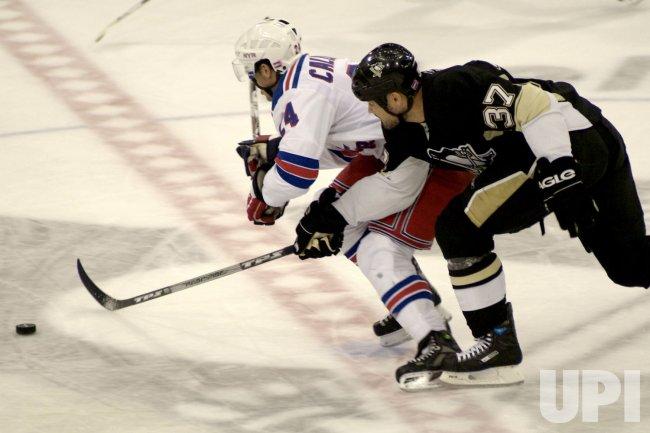 New York Rangers vs Pittsburgh Peguins