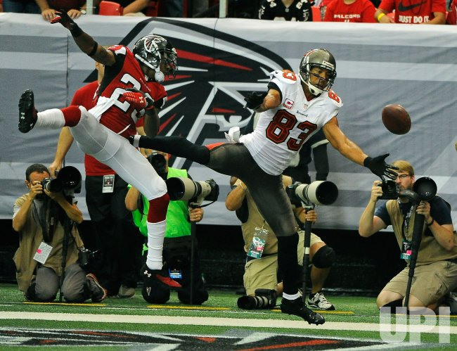 The Atlanta Falcons vs. Tampa Bay Buccaneers