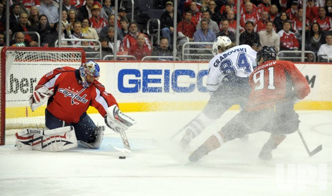 NHL Toronto Maple Leafs at Washington Capitals