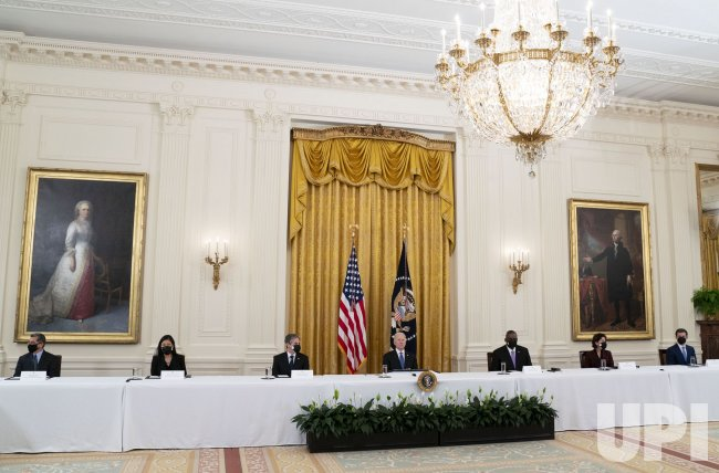 President Biden Holds Cabinet Meeting