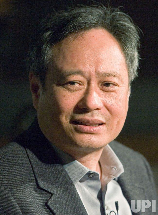 Oscar winning director Ang Lee speaks in Vancouver