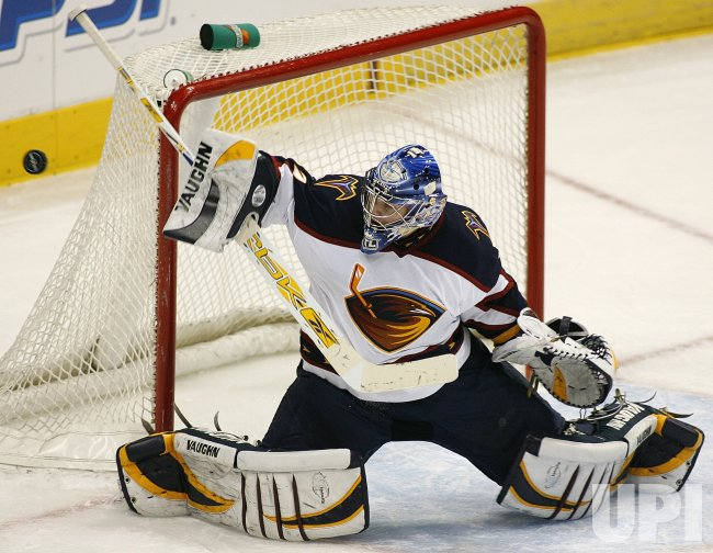 ATLANTA THRASHERS VS COLORADO AVALANCHE