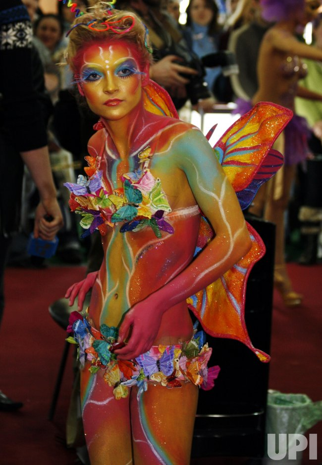 UKRAINIAN BODY-ART CHAMPIONSHIP IN KIEV
