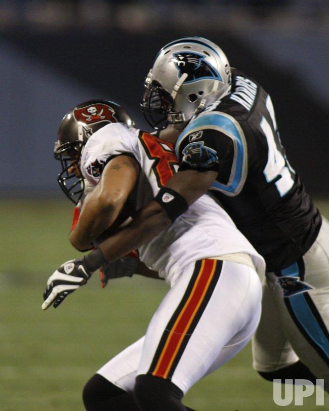 Carolina Panthers vs. Tampa Bay Buccaneers