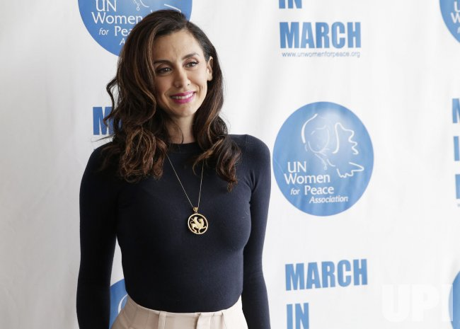 Mozhan Marno at UN Women For Peace Association Luncheon