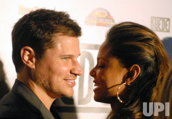 Nick Lachey and Jimmie Johnson host a party in Scottsdale, Arizona