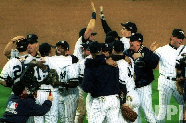Yankees v  Athletics American League Division Series Game 5