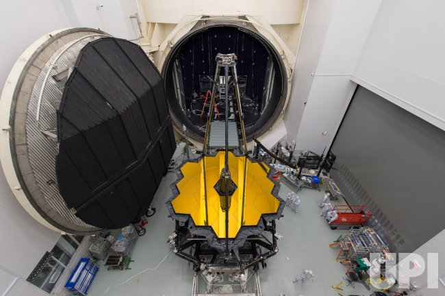 Webb Telescope Set for Testing in Space Simulation Chamber