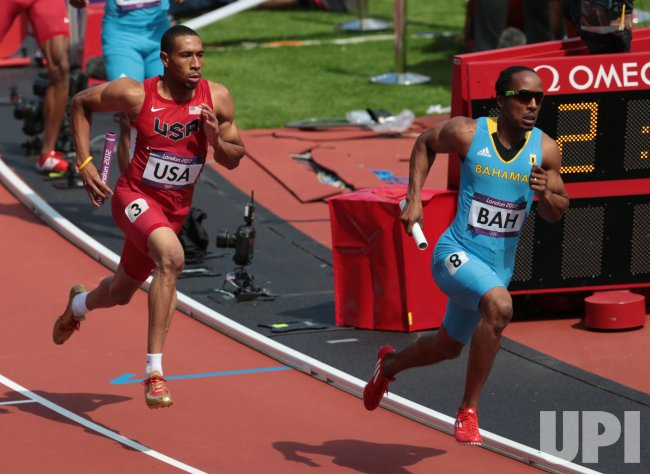 Men's 4x400 Metres Relay Heats at 2012 Olympics in London