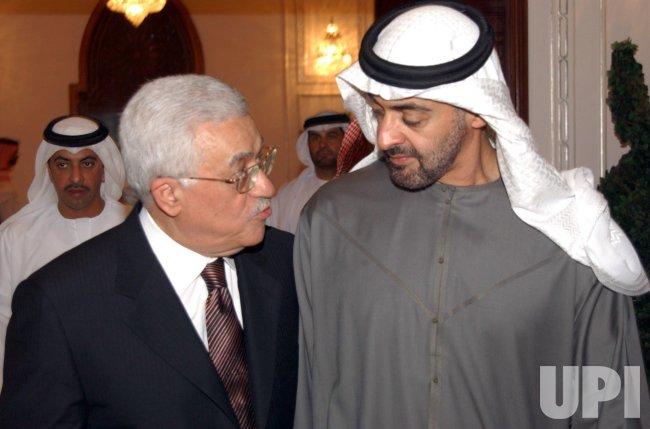 MAHMOUD ABBAS VISITS ABU DHABI