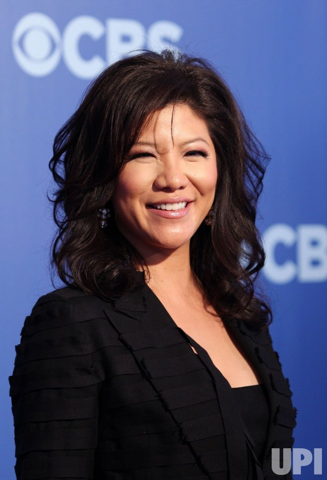 Julie Chen arrives at the 2010 CBS Up Front at Lincoln Center in New York