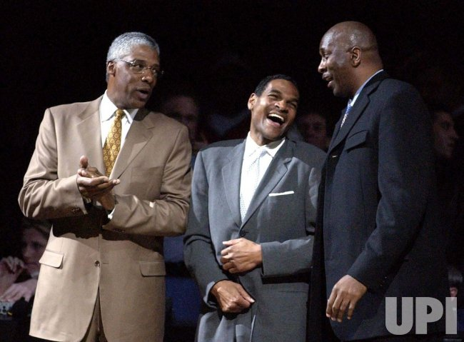 Portland Trailblazers at the Philadelphia 76ers NBA Basketball