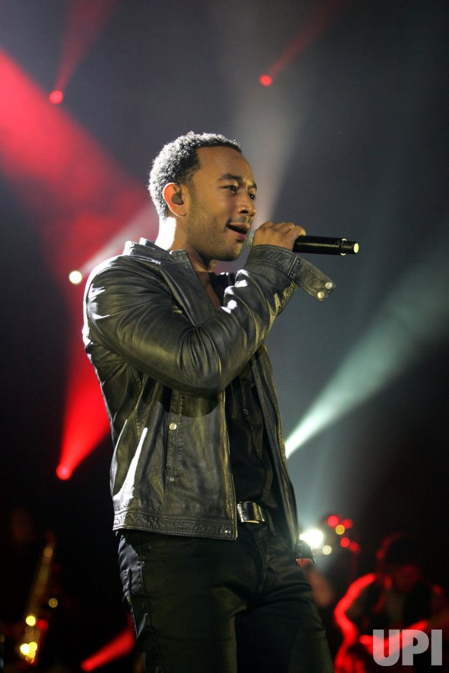 John Legend performs in concert in Hollywood, Florida