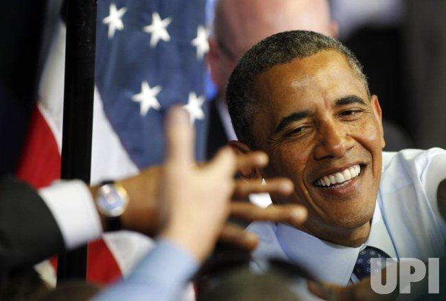 President Obama campaigns for Ed Markey