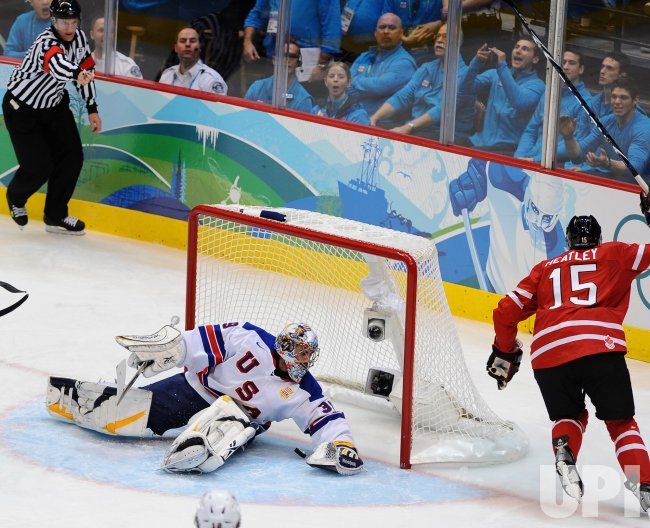 USA vs. Canada Men's Ice Hockey at 2010 Winter Olympics in Vancouver