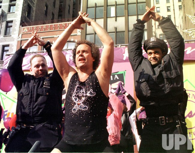 New York City Police workout with Richard Simmons