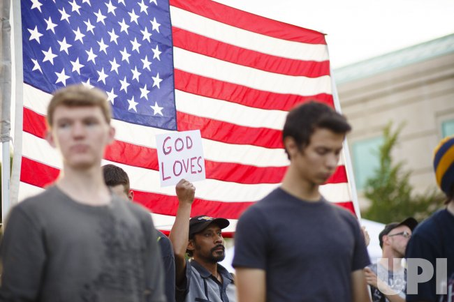 Vigil for shooting victims in Aurora, Colorado