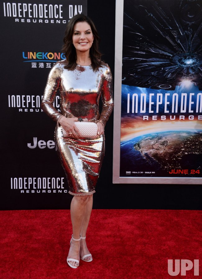 "Sela Ward attends the ""Independence Day: Resurgence"" premiere in Los Angeles"
