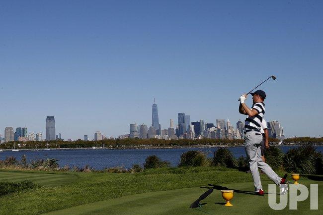 Justin Thomas Presidents Cup at Liberty National Golf Club in NJ