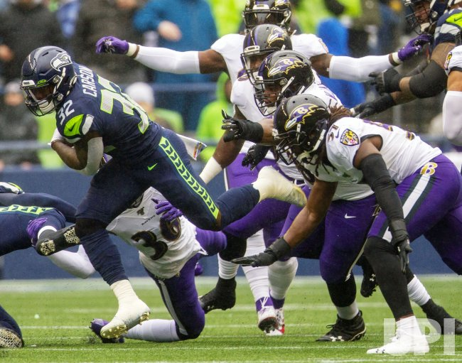 Baltimore Ravens beat the Seattle Seahawks 30-16 in Seattle
