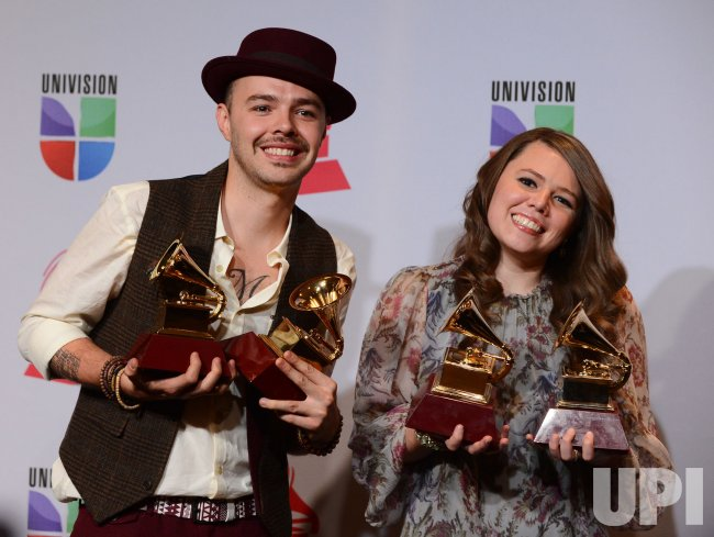 The 2012 Latin Grammy Awards in Las Vegas, Nevada.....
